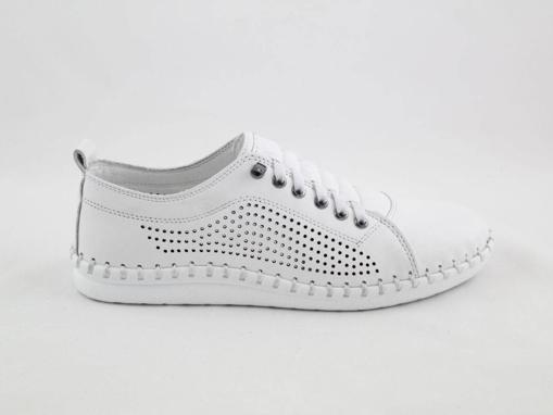 Obrázek z Wild 646019A.01 White Dámské celokožené boty