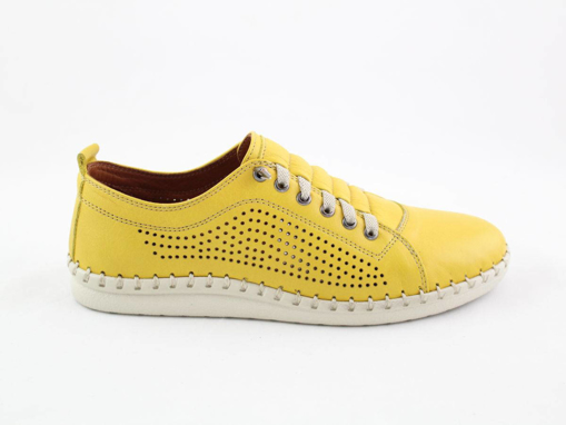 Obrázek z Wild 646019A.01 Yellow Dámské celokožené boty