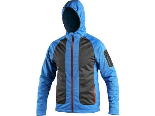 Obrázek z CXS DAYTON Pánská bunda modro / černá