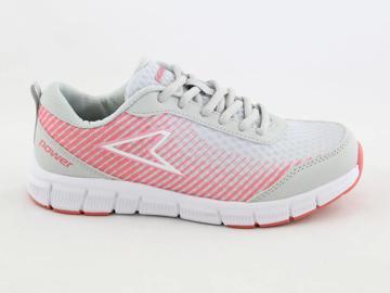 Obrázek Power Vivid Shock 409-2700 Dětské boty šedo / růžové