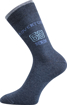 Obrázek z BOMA ponožky Kuba mix I/nápis s číslem 3 pár