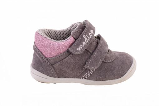 Obrázek z Medico EX5001-M156 Dětské kotníkové boty šedé