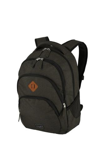 Obrázek z Travelite Basics Backpack Melange Brown 22 l