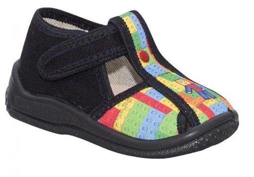 Obrázek z BIGHORN KUBA 5021 A Dětská domácí obuv