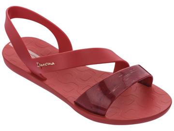 Obrázek Ipanema Vibe Sandal 82429-25457 Dámské sandály červené