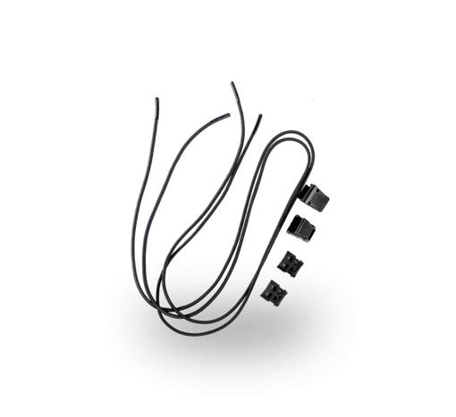 Obrázek z VM Footwear 3105 Univerzální elastické tkaničky se zdrhovadlem
