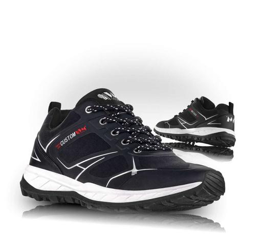 Obrázek z VM Footwear Melbourne 4805-60 Outdoorové softshellové boty černé