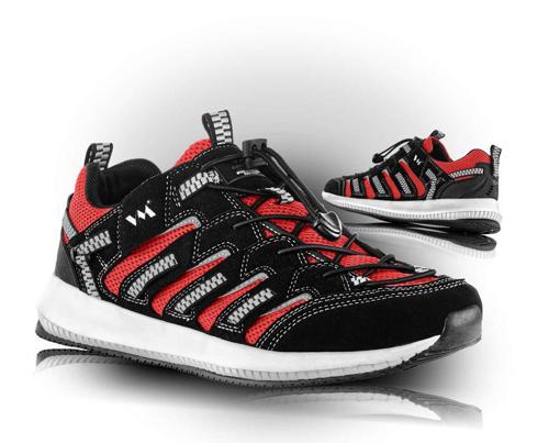 Obrázek z VM Footwear Lusaka 4445-35 Polobotky červené