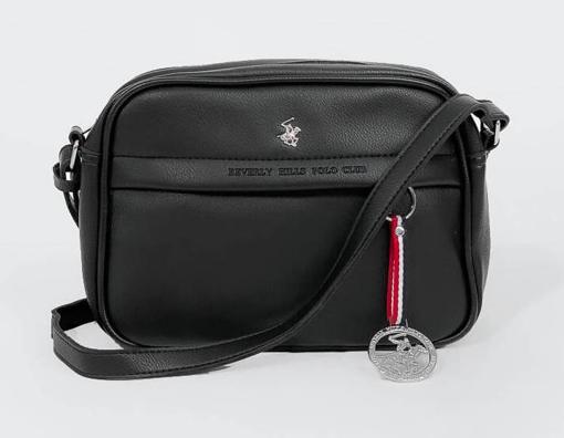 Obrázek z Taška cross Beverly Hills Polo Club BH-2306-01 černá 3,5 L