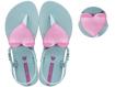 Obrázek z Ipanema Class Love Kids 26563-22299 Dětské sandály tyrkysové