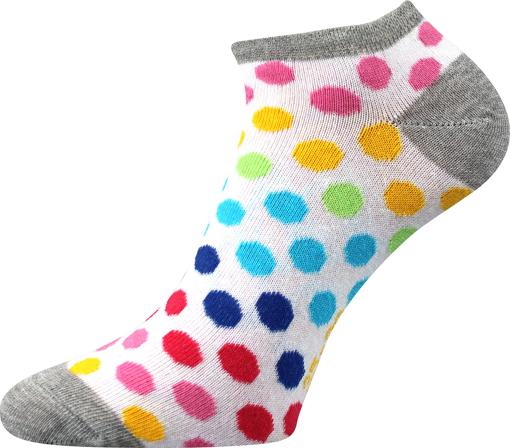 Obrázek z BOMA ponožky Piki 65 mix B/bílá 1 pár