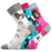 Obrázek z BOMA ponožky Filip 03 ABS mix D - holka 3 pár