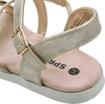 Obrázek z Sprox 529751 Dětské sandály platina
