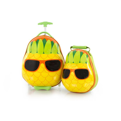 Obrázek z Heys Travel Tots Pineapple Kufr: 13,8 l  / Batoh: 3,4 L