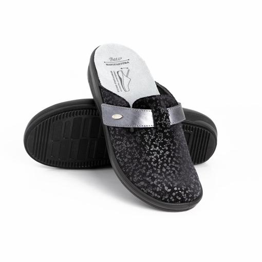 Obrázek z Batz IVETT Black Dámské zdravotní pantofle