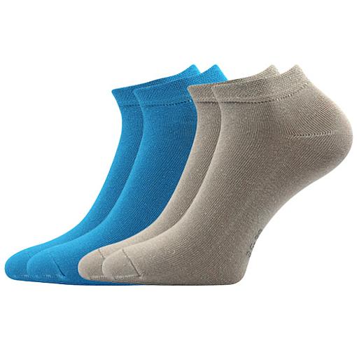 Obrázek z BOMA ponožky ČENĚK B 2pár mix / modrá + šedá 10 pack