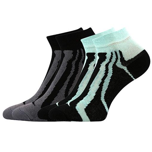 Obrázek z BOMA ponožky KIKI dět. 07 2pár mix / černá + mátová 10 pack