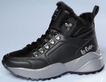 Obrázek Lee Cooper LCJ-21-31-0618LB Dámské kotníkové boty černé