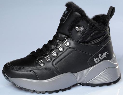 Obrázek z Lee Cooper LCJ-21-31-0618LB Dámské kotníkové boty černé