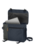 Obrázek z Travelite Basics messenger bag ME Navy/grey 14 L