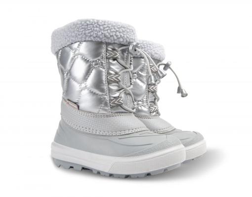 Obrázek z Demar Dětské sněhule FURRY 2 1510 NE stříbrné