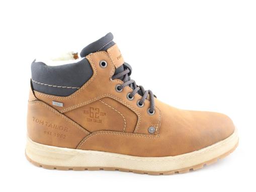 Obrázek z Tom Tailor 2181602 Pánské kotníkové boty béžové