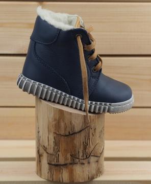 Obrázek Pegres 1705 Bosé Dětské zimní boty modré