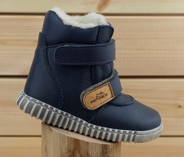 Obrázek Pegres 1706 Bosé Dětské zimní boty modré