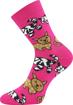 Obrázek z BOMA ponožky Sibiř dětská 07 mix B - holka 3 pár