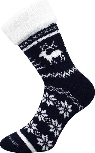 Obrázek z BOMA ponožky Norway tmavě modrá 1 pár